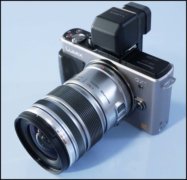 Panasonic GX1 Olympus m.zuiko 12-50 f/3.5-6.3 Zoom lens