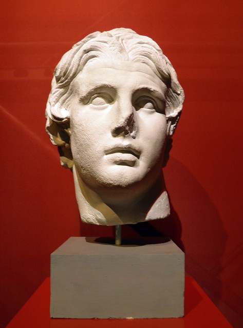 Alexander the Great, found in the Agora, 200 BC, Pergamon: Panorama of the Ancient City Exhibition, Pergamon Museum, Berlin