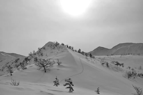 2/25 三峰山 バックカントリー