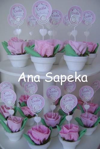 Flores para a chegada de Cecilia by ana_sapeka