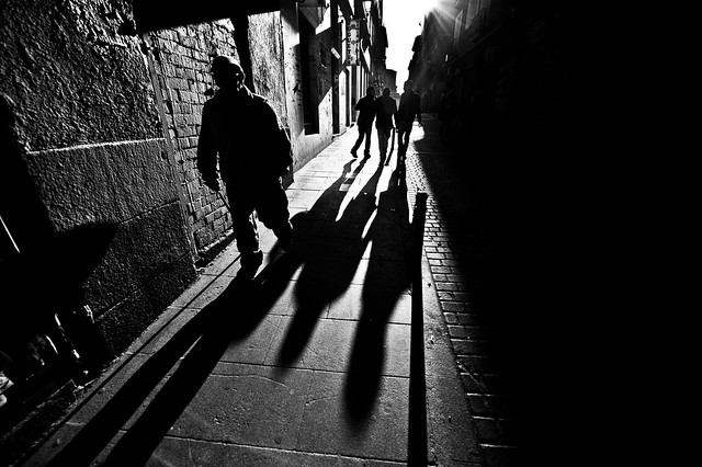 Spain Street Photography - Great Examples of Shadows in Street Photography