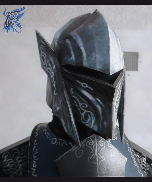 Ebony helmet