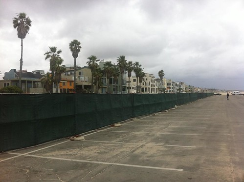 Venice Pier Parking Lot Renovation Begins