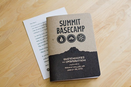 Summit Basecamp: Sketchnote Booklet & Note