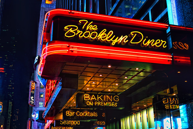 The Brooklyn Diner Times Square American Restaurant New