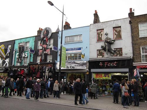 shops on Camden High Street