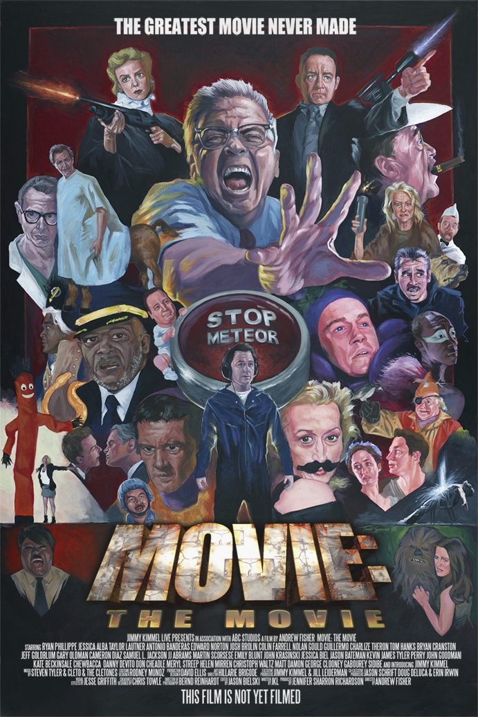 Jimmy Kimmel Live's MOVIE: THE MOVIE (movie poster)