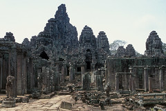 Bayon Temple - Front View