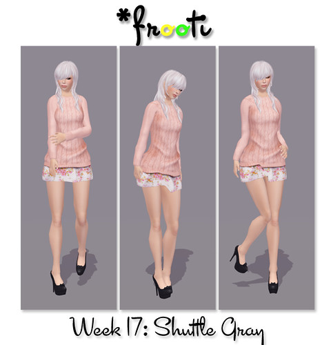 *Frooti - 52 WoC - Shuttle Gray