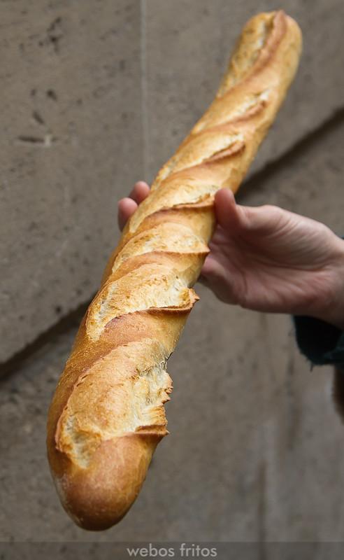 La baguette de la Chocolatier Boulanger Les Gourmandises d'Eiffel