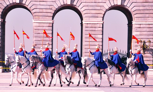 Pomp and Ceremony at the Royal Palace in Madrid