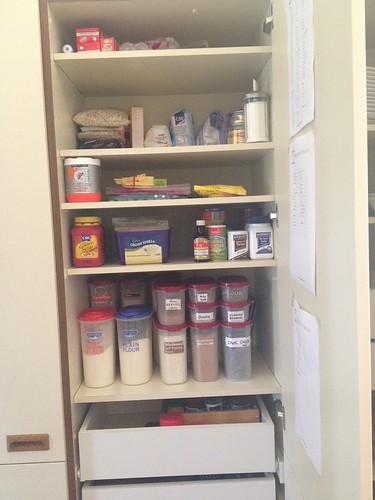 Decluttering - Pantry after