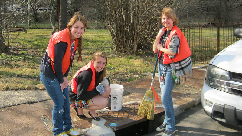 Marking the Storm Drain