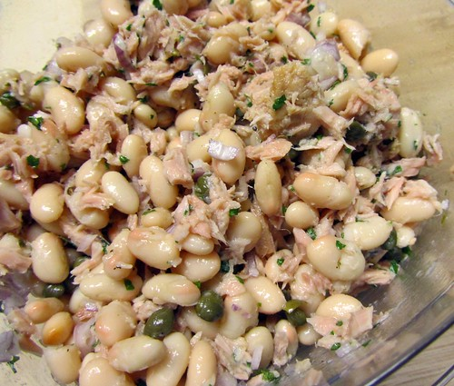 Tuna & White Bean Sala