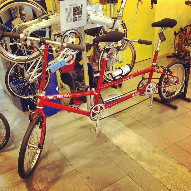 Bike Friday Tandem Touring