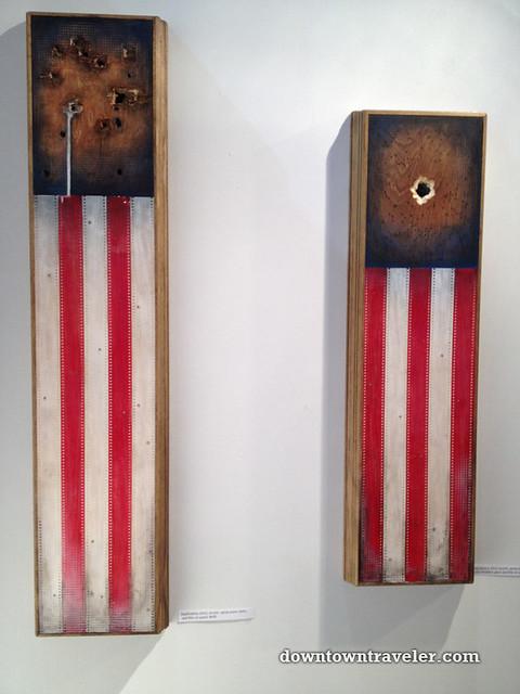 Fountain Art Fair_American flags by Rob Servo