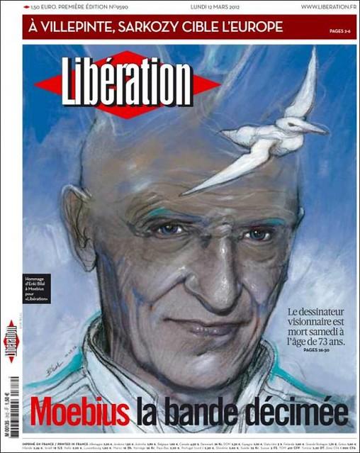 Moebius segín Bilal en Libération