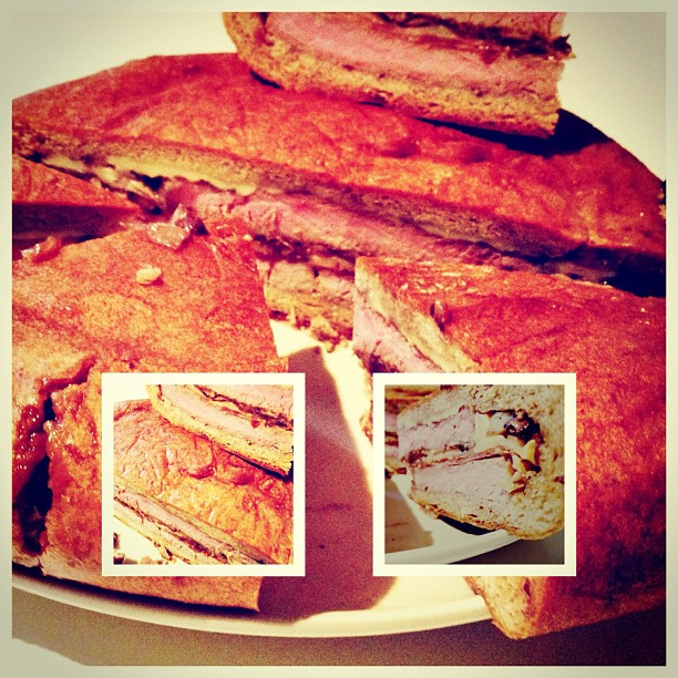 I have made the mother of all sandwiches.