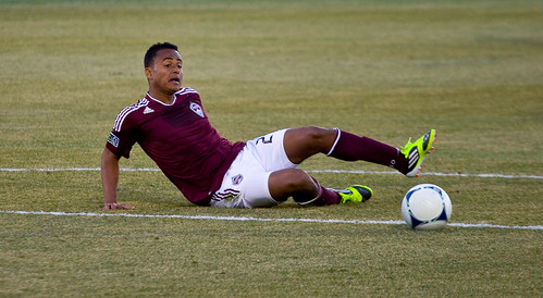 Rapids vs. Crew Jaime Castrillon by CE's Photography