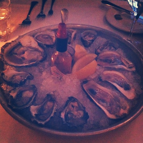 Oysters at Globe