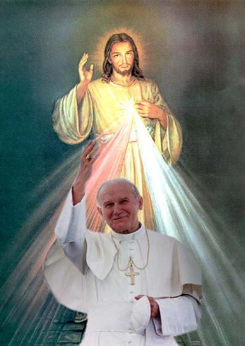 pope-john-paul II and the Divine Mercy