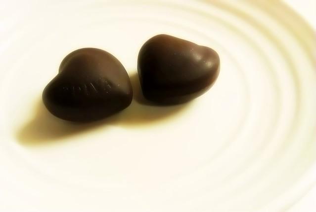 同心圓巧克力