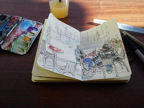 spring sketchbreak