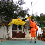 Mon, 12/03/2012 - 16:29 - Shifu Shi Yan Du (Kanishka Sharma) is the Official Buddhist Name (Darma Name) given by Shaolin Temple under the Guidance of Abbot Shi Yongxin, is a Shaolin Warrior from Shaolin Temple, China. He is the First Indian  Shaolin WarriorTo be Trained at Shaolin Temple Under the Guidance of Shifu Shi Heng Jun who introduced him to legendary Grand Master Suxi and his kungfu Brother Shifu Shi Deyang and currently is head of Shaolin India. Under Shifu Shi Heng Jun Guidance Shifu kanishka got trained in Shaolin jiben gong ShibaShi, Shaolin Tai Tzu Chang quan, Shaolin Wu bu Chuan,Shaolin Qi Xing Chua, Shaolin Xiao Hong Chuan, Shaolin Luohan Shi Ba shou, Shaolin Luohan Duanda, Shaolin Luohan chuan, Shaolin Wuxing Bafa (5 animal 8 movement), Shaolin Rumen chuan, Shaolin Kung Chuan, Shaolin Yin Shou Gun, Shaolin 9 Section whip Chain, Shaolin Broadsword (Dao), Shaolin Jian( straight sword),Shaolin Fun Mo Gun, Shaolin XinYi Quan , Shaolin Ba Duan jin and Shaolin yi jin jing Qi Gong. Shifu Kanishka also studied Shaolin San Sa liu Duanda( 36 short fighting combination of Shaolin kungfu) and Shaolin 36 Yin Chin-Na( locking system) In the year 2005 Shifu Shi Hengjun Travelled to France to spread the knowledge of Shaolin Chan Wu. Since then Shifu kanishka became disciple of Legendary Grand Master Shi Suyi (Liang Yiquan) who Deputed his Disciple Shifu Shi Yanfang who trained him in Shaolin Mehiua Chuan, Shaolin Pao Chua, Shaolin Hu chuan( Tiger fist), Shaolin Eagle Fist, Shaolin Tanglang Quan, Shaolin Kan jia chuan, Shaolin Yangjia Shi San Qiang( 13 Spear), Shaolin Moon Spade, Tongbei Chuan, Traditional Combat like Shaolin Tang fang ba, Hubpuba and introduced him to highest level of Shaolin Fighting called Xin Yi Ba. Shifu Shi Yanfang also trained Shifu kanishka intensly in Shaolin Sanshou( Free Fighting) specially in Shao Jiao( wrestling) and Shuai Fa( Takedowns) In the year 2008 Shifu Kanishka got the honor to train with Da Shifu Shi Yanzi ( a famous monk who has spent 15 years in Shaolin Temple and was known as the Iron bull and has achieved the highest level of shaolin skill called Xin Yi Ba.) Under the guidance of Da Shifu Shi Yanzi Shifu Kanishka Studied Xiao hong Quan a version which included Xin Yi Ba move called Pi Tui Xie Xing which is one of the most powerful move for Combat. Once mastered this move alone can counter 1000 movements or kicks and punches. Shifu Kanishka during the year 2006 under the Guidance of Grand master Wang studied the Southern Shaolin 18 Luohan System which was very Secretly Taught at that time and was made famous by lengendary Fighter called Hongxi Guan of Southern Shaolin Temple www.shaolinindia.com