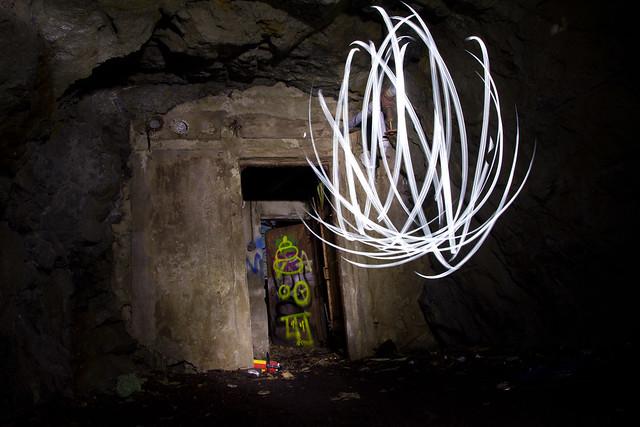 Abandoned shelter definition meaning for Light art definition