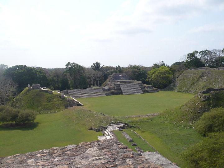 Las ruinas de Altún Ha, Belice