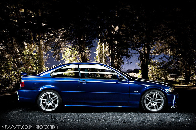 2002 bmw e46 330 ci clubsport in velvet blue light painted a photo on flickriver. Black Bedroom Furniture Sets. Home Design Ideas