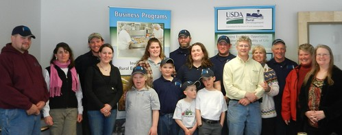 Value Added Producer Grant recipients in Vermont will use USDA support to increase on-farm production of dairy products. (Photo taken by a USDA employee)