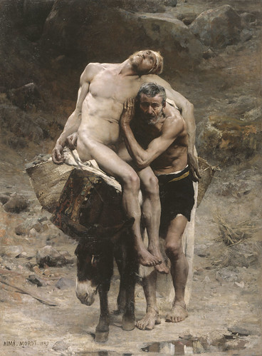 Aimé Morot - The Good Samaritan [1880] by Gandalf's Gallery