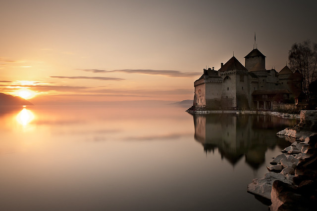poze elvetia peisaje superbe fotografii frumoase elvetia vaci munte lacuri elvetia imagini superbe switzerland pictures castles Château de Chillon Castelul Elvetia poze