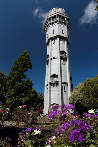 The historic Hawera water tower. Completed in 1914...