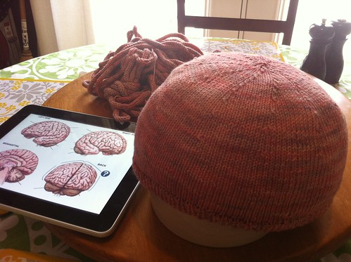 Brain Hat in medias res: (in media? Damnnit. Stupid Latin.)