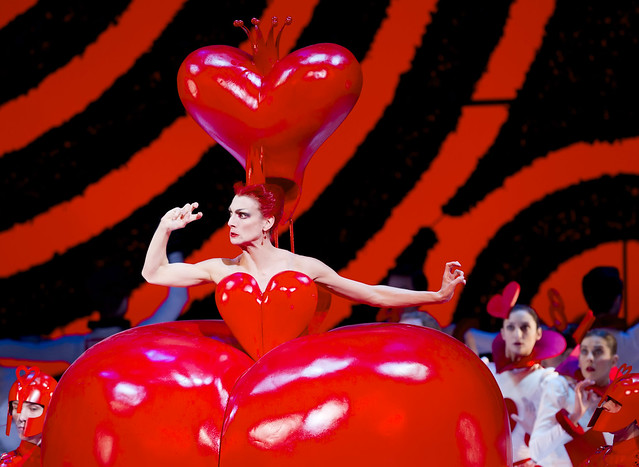 Zenaida Yanowsky as the Red Queen in Alice's Adventures in Wonderland © Johan Persson/ROH 2011