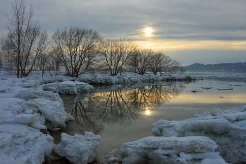 snow ice québec stlawrence neige stlaurent printemps glace d700