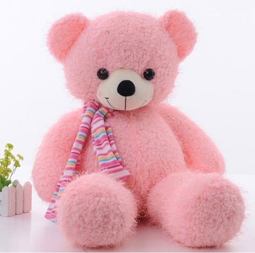 Pink cute teddy bear wallpapers - photo#26