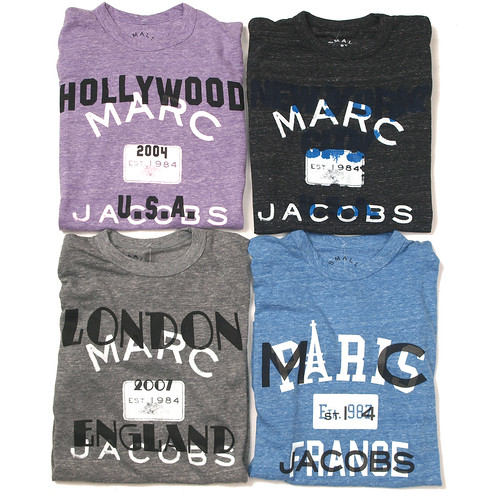 Marc by Marc Jacobs / City Collection S/S Tee
