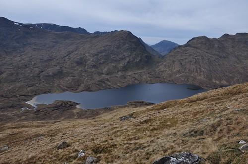 Loch a' Bhealaich from Gaorsaic