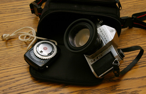 What's in the Bag: Pentax S1a + GE PR-1