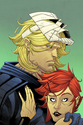 Luther Strode Pin-up: Big Planet Comics by sobreiro
