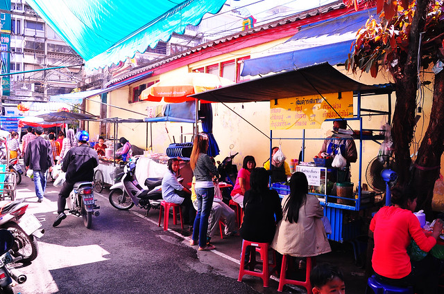 Chiang Mai, Chinatown's Street Food Alley