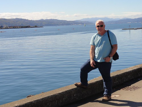 Dad in Wellington