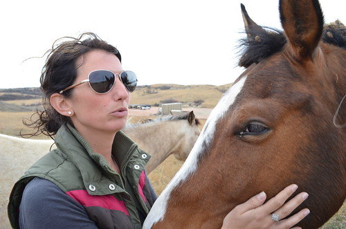 Jessie Veeder (and horse)