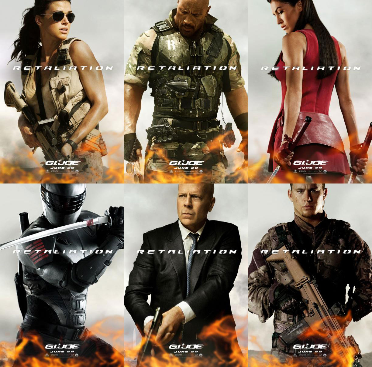 The G.I.Joe Movie Fanblog: Character Posters for G.I.Joe ... Gi Joe Retaliation Character Poster