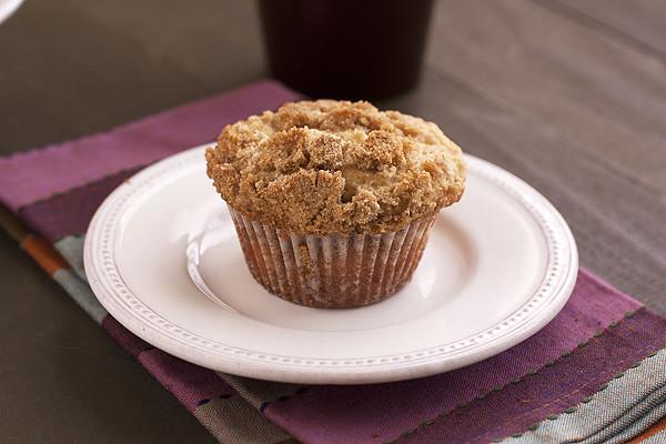 Allspice Streusel Muffins