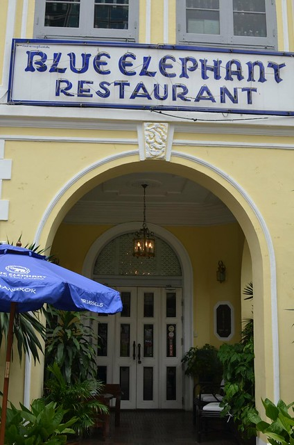 藍象餐廳 BLUE ELEPHANT BANGKOK