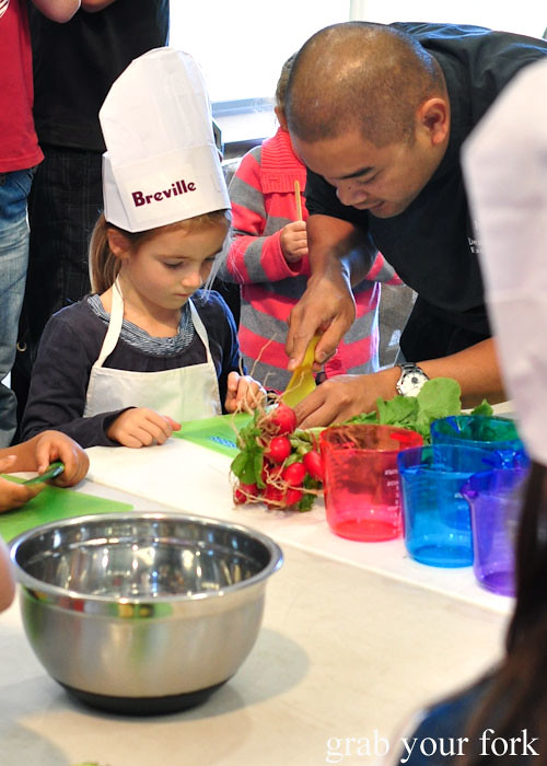 Kids in the kitchen at the Adelaide Showground Farmers Market